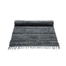 Dark Grey Contemporary Rug