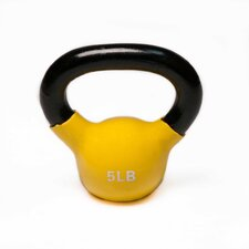 Vinyl Covered Kettle Bell