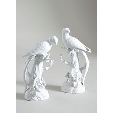 Parrot / Fruit Tree Sculpture (Set of 2)