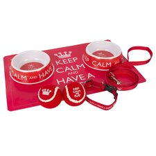 Keep Calm 7 Piece Gift Set Dog