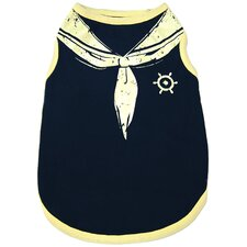 Fashion Sailor Dog Tank Top