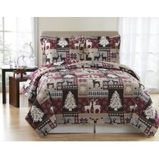 Lodge Mini Quilt Set