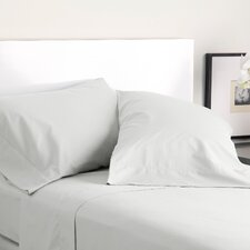 300 Thread Count Solid Cotton Pillowcase (Set of 2)
