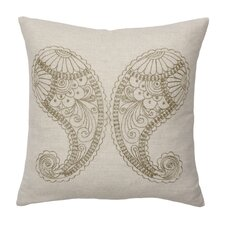 Bindu Polypropylene Paisley Decorative Pillow