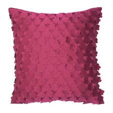 Blossom Polyester Laser Cut Flowers Pillow