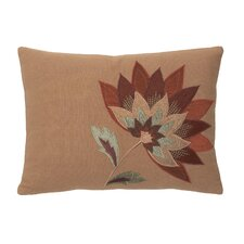 Sausalito Cotton Single Flower Pillow