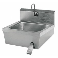 "<strong>Advance Tabco</strong> Hands Free 17.25"" x 21.25"" Hand Sink with Faucet"