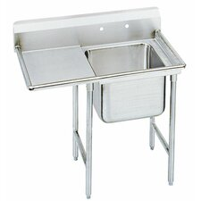 "T-9 Series 43"" x 27"" 1 Compartment Scullery Sink"