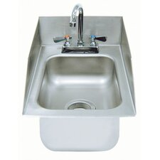 304 Series 1 Compartment Drop-in Sink with Faucet