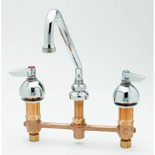 "Heavy Duty 9"" Deck Mount Spray Faucet"
