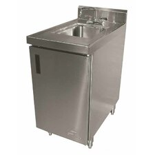 "<strong>Advance Tabco</strong> Wall Mounted 18"" x 30"" Sink Cabinet with Faucet"