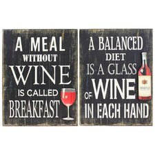 Vino Wall Art (Set of 2)
