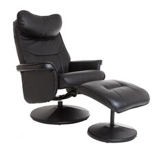 Amsterdam Swivel Recliner and Footstool
