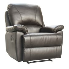 Worcester Bonded Leather Manual Recliner