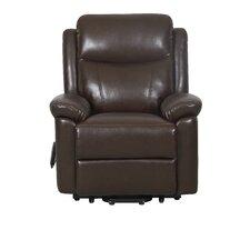 Oxford Faux Leather Riser Recliner