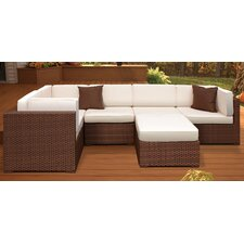 <strong>International Home Miami</strong> Aventura Outdoor Wicker Deep Seating Group