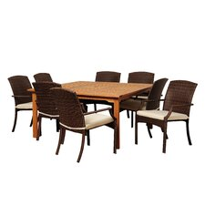 Manchester 9 Piece Square Dining Set
