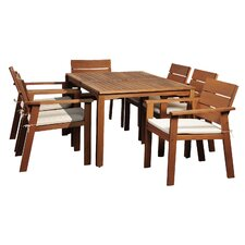 Amazonia Vincent 7 Piece Dining Set (Set of 7)