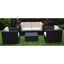 St. Tropez 5 Piece Deep Seating Group with Cushions