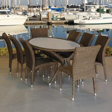 Bari 9 Piece Dining Set