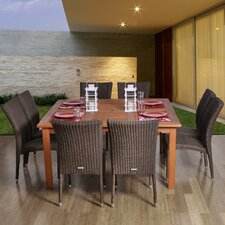 <strong>International Home Miami</strong> Provence 9 Piece Dining Set