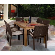 <strong>International Home Miami</strong> Amazonia Brownsville 7 Piece Dining Set