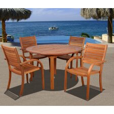 <strong>International Home Miami</strong> Amazonia Maryland 5 Piece Dining Set
