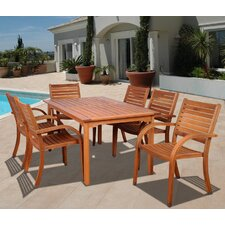 Amazonia Maryland 7 Piece Dining Set