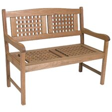 Porto Real Wood Garden Bench