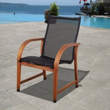 <strong>International Home Miami</strong> Amazonia Dining Arm Chairs (Set of 4)