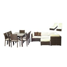 Atlantic 17 Piece Deep Seating Group