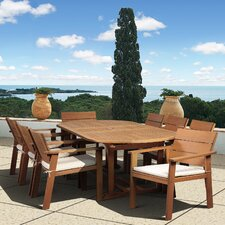 <strong>International Home Miami</strong> Amazonia Vincent 9 Piece Dining Set