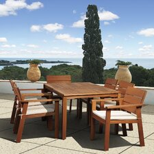 <strong>International Home Miami</strong> Amazonia Vincent 7 Piece Dining Set