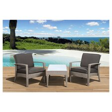 Atlantic Java 3 Piece Seating Group with Cushion