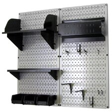 <strong>Wall Control</strong> Pegboard Hobby Craft Pegboard Organizer Storage Kit
