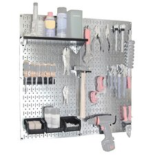 <strong>Wall Control</strong> Utility Tool Storage and Garage Pegboard Organizer Kit
