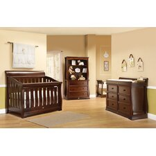 Sleigh Royale Forever Convertible Crib Set