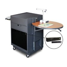 Vizion Media Center Cart