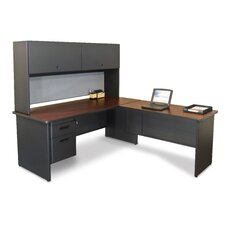 <strong>Marvel Office Furniture</strong> Pronto Computer Desk with Return