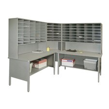 <strong>Marvel Office Furniture</strong> 84 Slot Corner Literature Organizer