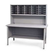 25 Adjustable Slot Literature Organizer with Riser