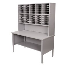 <strong>Marvel Office Furniture</strong> 50 Adjustable Slot Literature Organizer with Riser