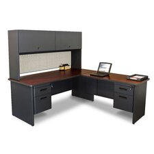 Pronto Executive Desk with Return and Pedestal