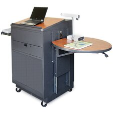 <strong>Marvel Office Furniture</strong> Zapf Office Support Media Center Cart with Steel Door