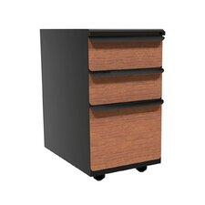 Zapf 3-Drawer Mobile Pedestal File Cabinet