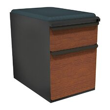Zapf Mobile Pedestal File Cabinet with Seat