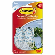 <strong>Command</strong> Medium Hooks (2 Pack)