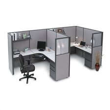 <strong>Storlie</strong> Two Person L-Shape Desk Office Suite