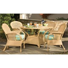 <strong>Whitecraft</strong> Boca 5 Piece Round Dining Table Set
