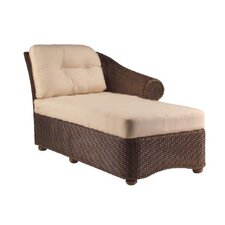Bravo Right Arm Chaise Lounge with Cushion